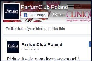 ParfumClub Poland Facebook